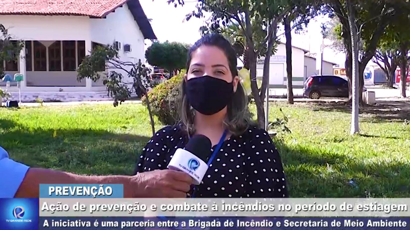 Meio Ambiente e Brigada de Incêndio realizam ação de prevenção e combate a incêndios no Bro-bró